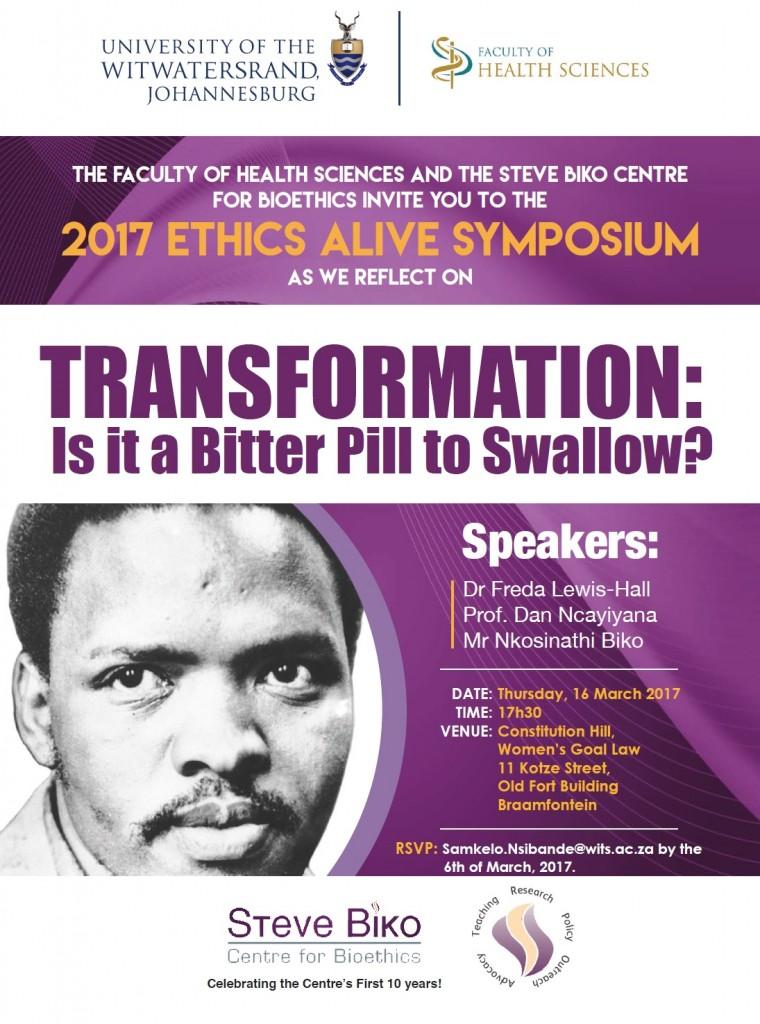 Ethics Alive Symposium - 2017