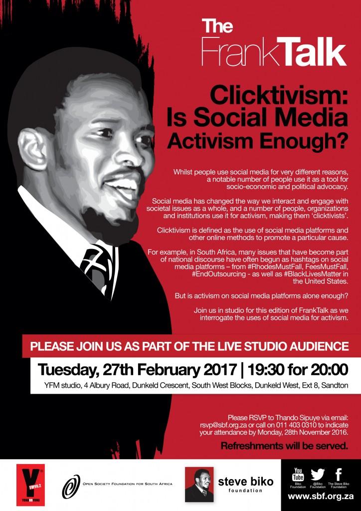 Frank Talk Feb Poster