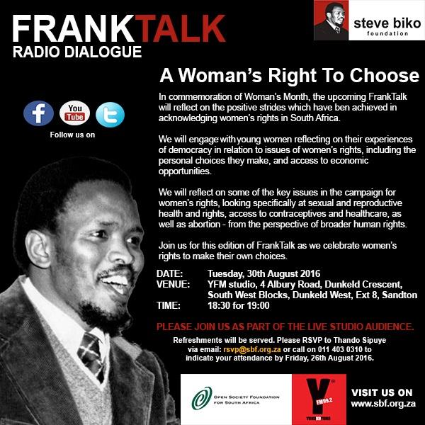 FRANK TALK